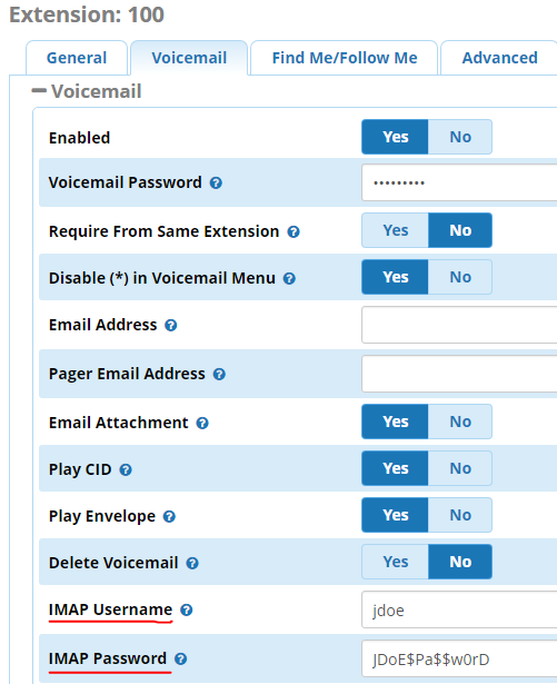 Switching to (and from) IMAP Voicemail Storage - TheWebMachine